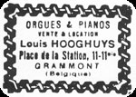 Stamp of Louis Hooghuys